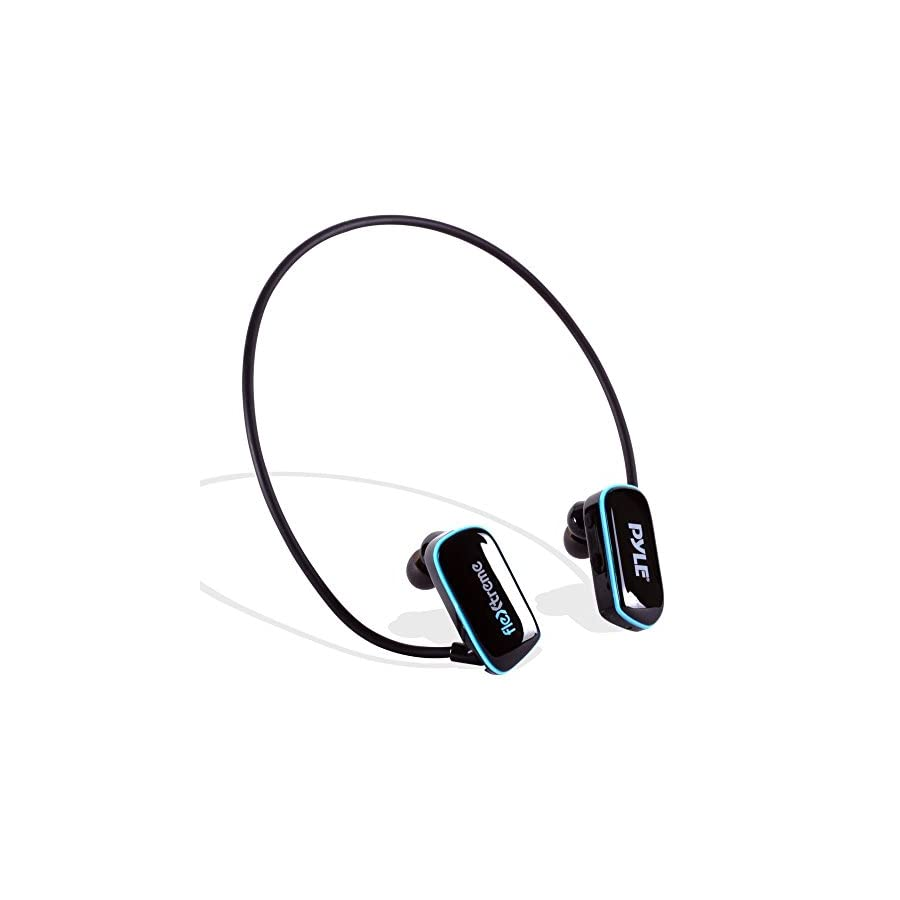 Pyle Waterproof Sports Wearable MP3 Headset Music Player 8GB
