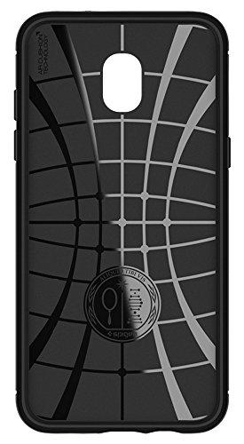 Spigen Rugged Armor Galaxy J3 Case, Galaxy J3 Eclipse 2,Galaxy J3 Orbit, Galaxy J3 2018 case with Flexible and Durable Shock Absorption with Carbon Fiber Design for Samsung Galaxy J3 (2018) - Black by Spigen (Image #7)