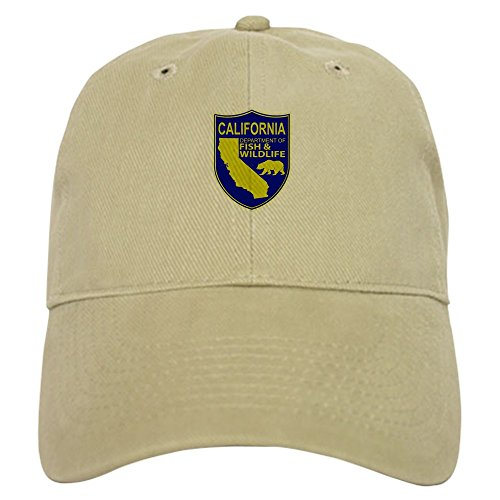 CafePress - California Game Warden Cap - Baseball Cap with Adjustable Closure, Unique Printed Baseball Hat