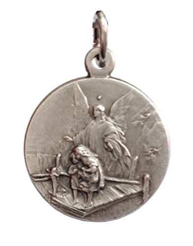 The Saint Guardian Angel Medal - The Patron Saints Medals (Guardian Angel Medal)