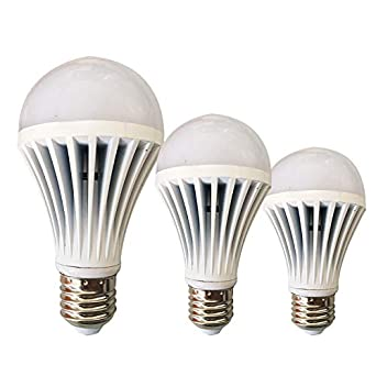 Bombilla LED, lámpara de ahorro de energía de vidrio de alta potencia, fuente de