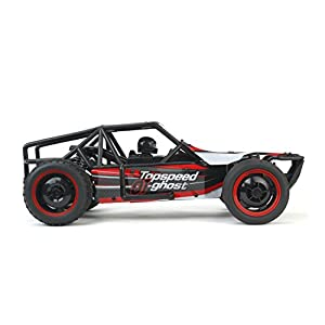 Gallop Ghost Top Speed Remote Control 2.4 GHz RC Red Toy Buggy Car 1:10 Scale Size Ready To Run w/ Working Suspension, Spring Shock Absorbers
