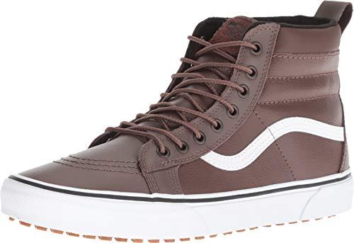 (Vans Men's Sk8-Hi MTE Leather Skate Shoe (9.5 M US, Rain Drum/Leather))