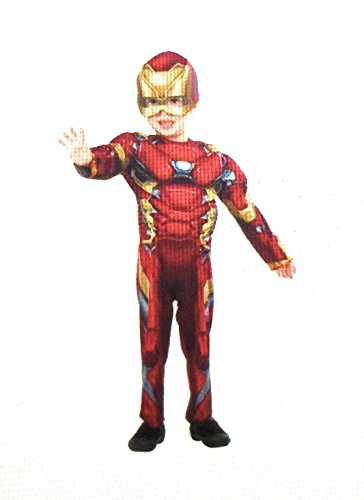 Marvel Iron Man Civil War Toddler Costume (2T) (Iron Man Costume Toddler)