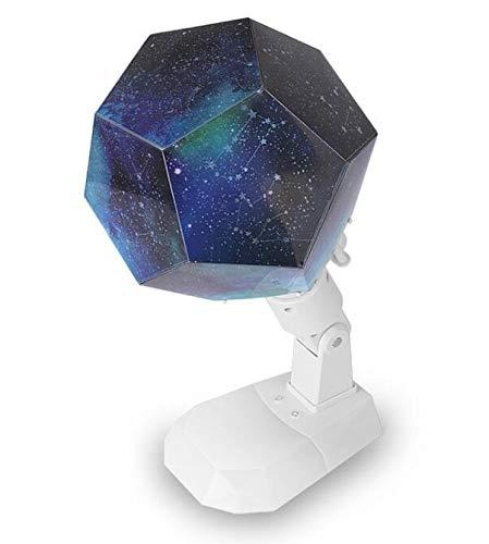 WO NICE Doce Constelaciones Estrellada Cielo luz de proyección USB ...