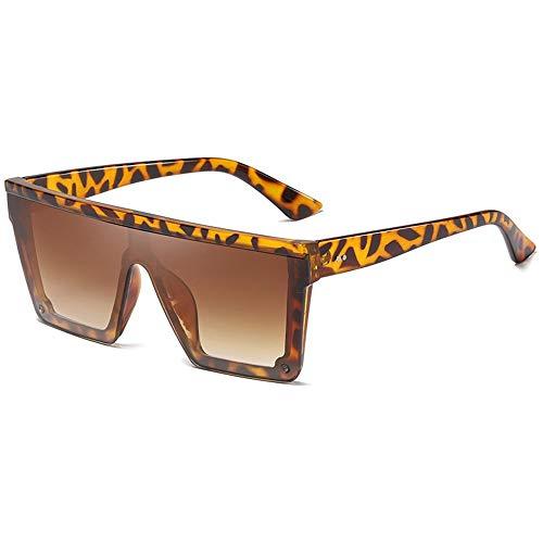 leopard Gafas Sol Hombres Hombres Cuadradas De Gafas Sol Sol para De Plata De FKSW Conducción Gafas De Sol Gafas Gafas WSxpHAEnA