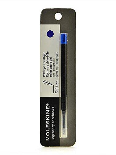 Moleskine Writing Collection (Roller Pen Refills) - Fine 0.5 mm (Brilliant Blue) 2 pcs sku# (Moleskine Artists Collection)