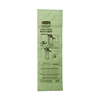 9dd4ce66db55 Image Unavailable. Image not available for. Color  Rubbermaid Commercial  Upright Vacuum Cleaner Replacement Bag ...