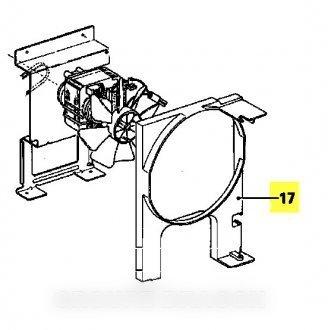 Miele - Conducto de ventilación repere 17 para Micro ...