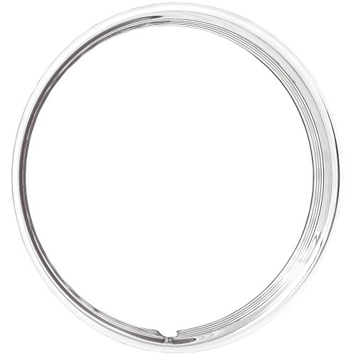 Coker Tire 3006-15 Trim Ring 15 Inch Hot Rod Ribbed by Coker Tire