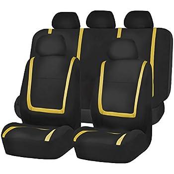 Amazon.com: FH Group FH-FB032115 Unique Flat Cloth Seat Cover w. 5