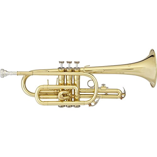 Blessing BCR-1230 Student Cornet, Lacquered Brass by Blessing