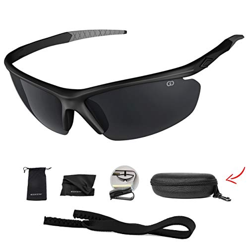 937c10ce2e5 Polarized UV400 Sport Sunglasses Anti-Fog Ideal for Driving or Sports  Activity