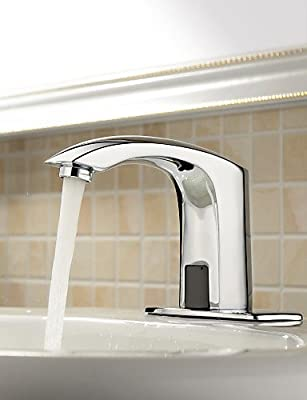 Ling@ Basin mixer Bathroom Sink Faucets Contemporary Touch/Touchless Brass Chrome