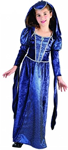Glossy Look Little Girls' Renaissance Pincess World Book Day Costume Small (Age 4-6) (World Book Day Costumes)
