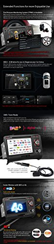 XTRONS 7 Inch Android 6.0 Octa-Core Capacitive Touch Screen Car Stereo Radio DVD Player GPS CANbus Screen Mirroring Function OBD2 Tire Pressure Monitoring for Audi TT MK2 by XTRONS (Image #7)