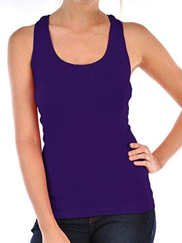 Fashion Envy Athleltic Compression Yoga Top (Free Size, purple) by Fashion Envy
