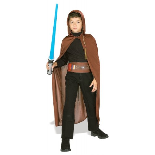 Star Wars Jedi Knight Action Accessory Costume Set, Child Size 4 to 6