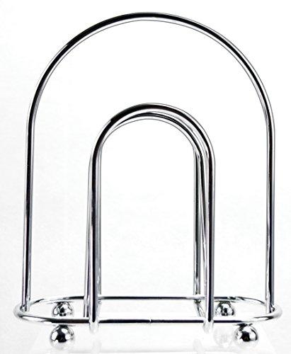 Holder Napkin Euro (EURO-HOME Deluxe Chrome Napkin Holder, Steel)