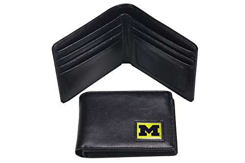 Michigan Wolverines Mens Leather - 2
