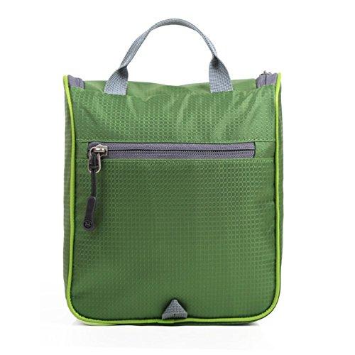 LIGHTING sacchetto della lavata di corsa impermeabile / esterno / viaggio borse Kit di lavaggio per gli uomini e le donne-verde