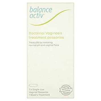 Balance Activ Bv Vaginal Pessaries 7 Pessaries Box Amazon Beauty
