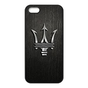 Maserati logo-004 For iphone 5 5s Cell Phone Case Black Cover xin2jy-4356613