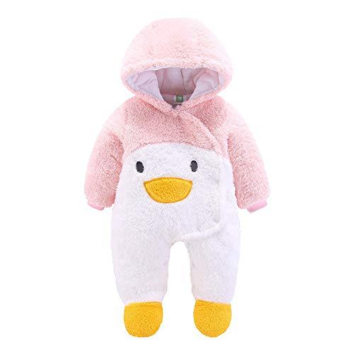 Londony ♥‿♥ Clearance 2018,Newborn Baby Boy Girl Winter Flannel Bunting Outfits Warm Fleece Romper -