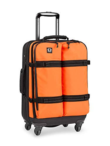 Terminal Travel Bag (OGIO ALPHA Convoy 4-Wheel Spinner Carry-on Travel Bag, US Domestic Carry-On, Glow Orange)