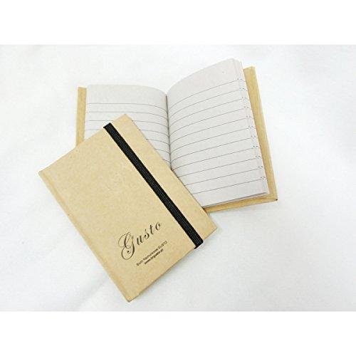 El Simon 2620 portátil, mini diario, agenda, Natural de ...