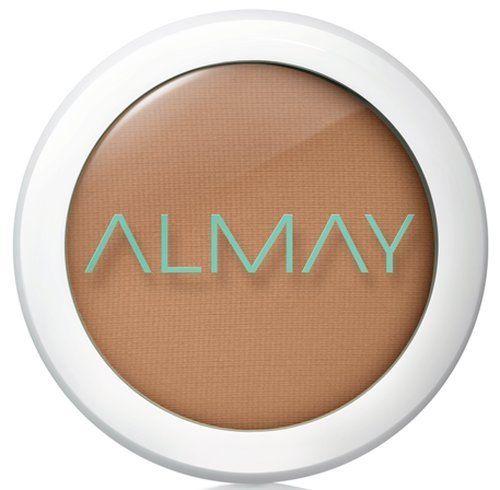 Almay Clear Complexion Pressed Powder, Deep, 600, Hypoallergenic, Dermatologist-tested, Non-Comedogenic (Won't Clog Pores), 0.28 oz. (Best Non Comedogenic Pressed Powder)
