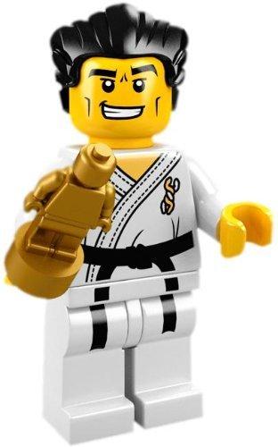 LEGO Sammelfigur Serie 2 Karate Kämpfer LEGO Bau- & Konstruktionsspielzeug LEGO Minifiguren