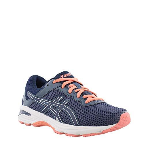 ASICS GT-1000 6 GS Kid's Running Shoe. Smoke Blue/Indigo Blue/Begonia Pink, 6 M US Big Kid by ASICS (Image #1)