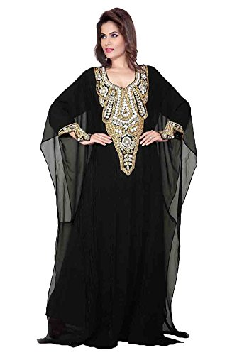 Women's Kleid Übergrößen lange Kaftan KKPF17136 PalasFashion 6qXOa
