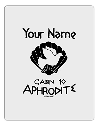 [TooLoud Personalized Cabin 10 Aphrodite Aluminum Dry Erase Board] (Easy Goddess Costume)