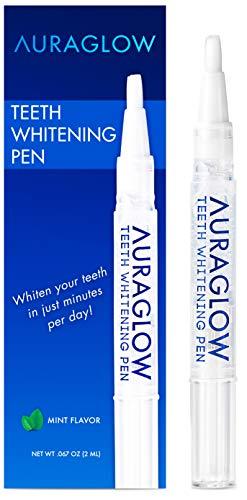 Auraglow Teeth Whitening Pen 35 Carbamide Peroxide 15 Whitening Treatments No Sensitivity 2ml