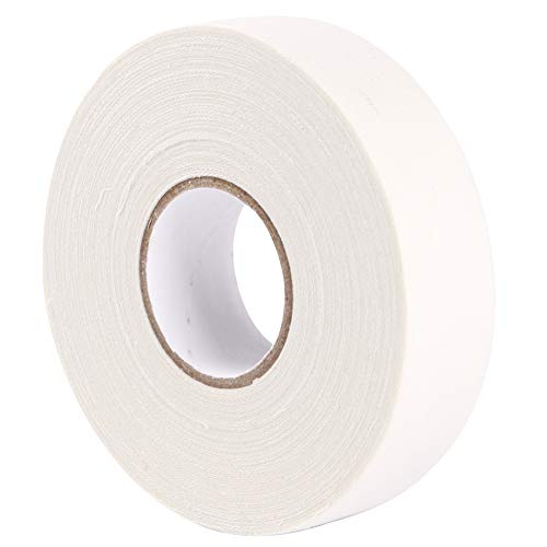 - EALER White Athletic Hockey Cloth Tape, 1 Roll, 1 Inch Wide, 27.34 Yards Long (Cloth)