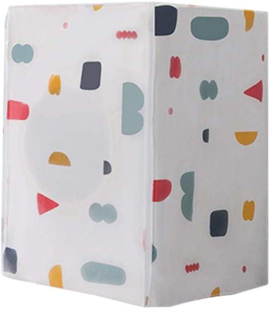 vosarea lavadora protectora Geometría Patrones resistente al agua resistente al polvo tapa para lavadora carga frontal wärmepumpentrockner