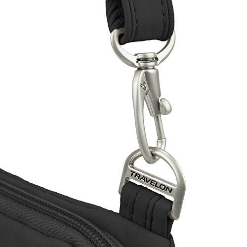 Travelon Anti-Theft Classic Light Mini Crossbody Bag, Black by Travelon (Image #5)