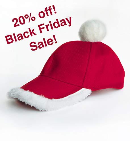 Santa Hat Gift - Festive Santa Cap! The one and only CapSanta.