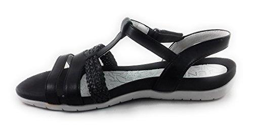Jenny , Damen Sandalen schwarz schwarz
