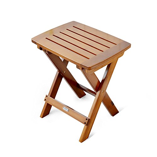Folding Table Portable Table Stool, College Dormitory, Lazy Multi-Function Folding Stool by Folding Table