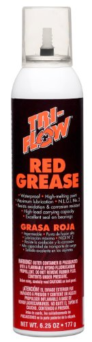 Tri Flow TFBP20030 Red Grease 6.25 oz. Aerosol