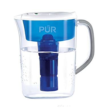PUR 7 Cup Ultimate Pitcher with LED Indicator, Clear