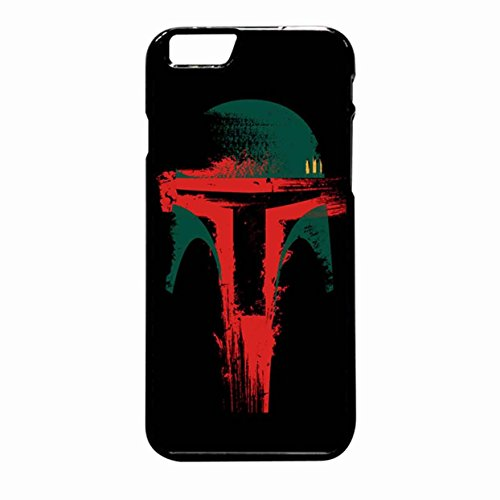 Boba Fett 2 Case / Color Black Rubber / Device iPhone 6 Plus/6s Plus