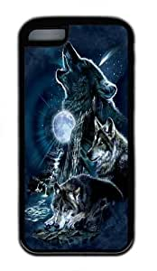 Wishing iPhone 5C Cases & Covers -Bark At The Moon Wolf TPU Custom iPhone 5C Case Cover Black