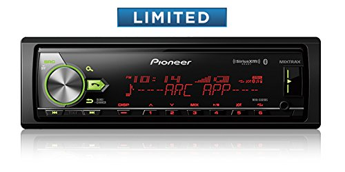 Pioneer MVH-S501BS DIGITAL MEDIA RECEIVER WITH ENHANCED AUDIO FUNCTIONS, IMPROVED PIONEER ARC APP COMPATIBILITY, MIXTRAX, BUILT-IN BLUETOOTH, AND SIRIUSXM-READY MVHS501BS by Pioneer