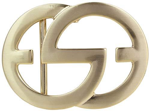Brazil Lederwaren Gürtelschnalle Emil 4,0 cm | Buckle Wechselschließe Gürtelschließe 40mm Massiv | Für Wechselgürtel bis zu 4cm Breite