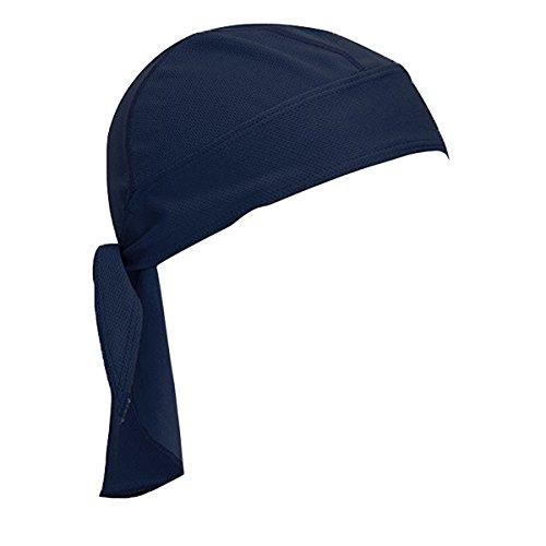 Funny Headgear (Sport Outdoor Quick-dry Bandana - WITERY Adjustable Breathable Head Wrap Headwear Running Beanie - Unisex Classic Pirate Headscarf - Sun UV Protection Cap Headgear for Men Women Helmet Liner Navy Blue)