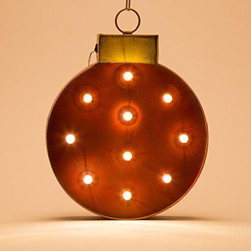 Glitzhome Marquee LED Ornament by Glitzhome